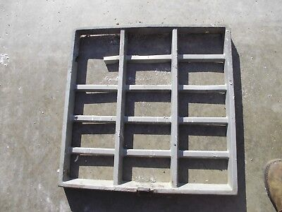 International 1066 Original Metal Grill Insert Ih Tractor 1066 Tractor