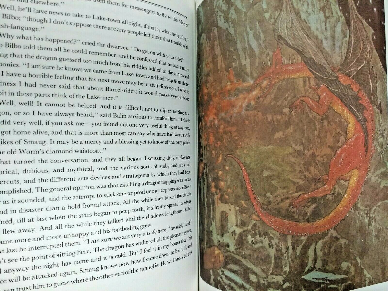J.R.R. Tolkien The Hobbit Illustrated By Michael Hague Softcover - $18.00