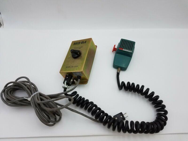 Rockola 2379 Jukebox Microphone Attachment Karaoke Juke Box Vintage Used