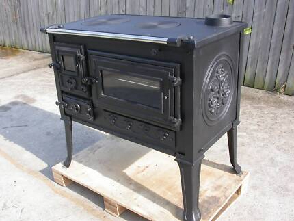 Woodstove BBQ Fully functional