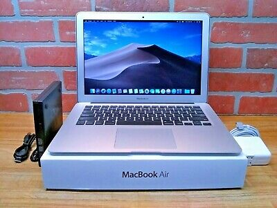 """Apple MacBook Air 13"""" / 1.8GHz Core i5 / UPGRADED 256GB SSD / 4GB RAM / OS-2017"""