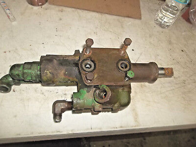 John Deere Model 40 Loader Hydraulic Valve Part Jd Mt Tractor Loader Valve Bank