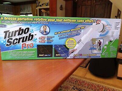 CEPILLO DE LIMPIEZA ELECTRICO y RECARGABLE *** Turbo Scrub Pro ***