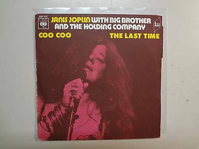 Janis Joplin W Big Brother   Holding Company Coo Coo Last Time France 7  Cbs Psl