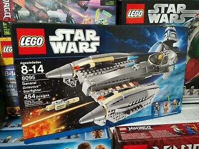 Lego 8095 Star Wars General Grievous Starfighter New Rare Retired 2010 Free Ship