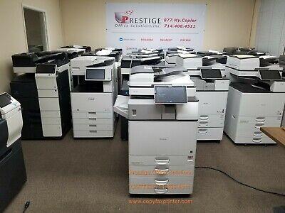 Ricoh Mp 3055 Blackwhite Copier-printer-scanner Super Clean Low Meter