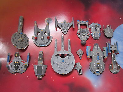 Trek Star ship Micro Machines Fasa Scale: Federation Starfleet Ships Fleets