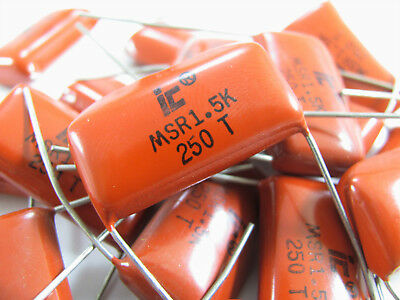 0.01uf To 1.5uf 250v - Polyester Metallized Film - Illinois Capacitor Nos