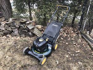 Craftsman lawnmower. All tuned up.