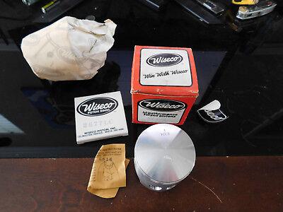 NOS Wiseco Yamaha Piston Kit 76-81 IT175 IT 175 AHRMA 374P8 374 P8 .080 O/S for sale  Lockhart