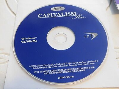 Capitalism Plus  Pc  1996 Disc Only 59 308
