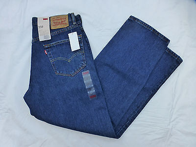 Levis 550 Relaxed Fit Tapered (NWT MENS LEVIS 550 RELAXED FIT TAPERED LEG JEANS $58 00550-4886 DARK)