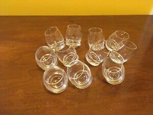 11 Vintage Tarnow Wobble/Egg Shot Glasses
