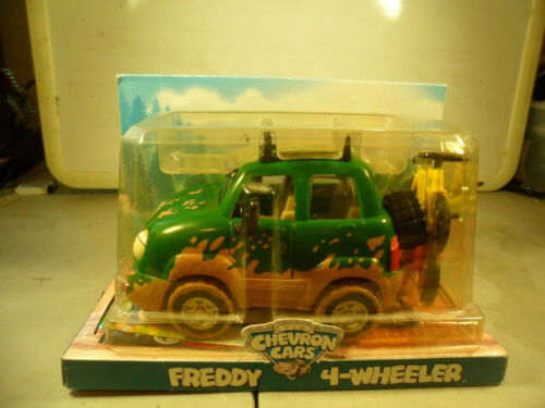 CHEVRON CAR COLLECTIBLE TOY FIGURE FREDDY 4-WHEELER