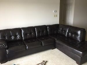 Barely used perfect condition sectional