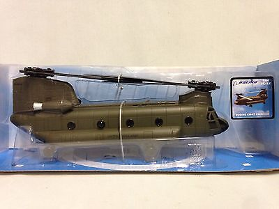Boeing Ch 47 Chinook  Us Army  1 60 Diecast Helicopter Collectibles  New Ray Toy
