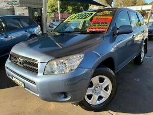 TOYOTA RAV 4 2006 4X4 LONG FEB/20 REGO FULL SERVICE HIST *5YR WARRANTY Bass Hill Bankstown Area Preview