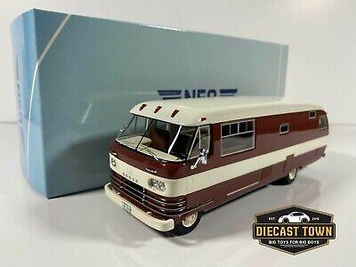 1/43 Scale NEO Scale Models Dodge Travco RV Bus Van Motor Home NEO46308 1965