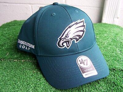 Bridgestone Golf Philadelphia Eagles Grün Golfhut Kappe NFL Team Verstellbar