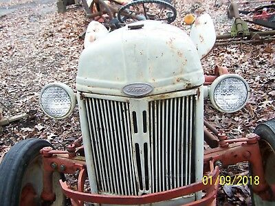 Ford 8n Tractor Hood And Grille Assm