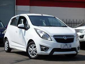 2013 Holden Barina Spark AUTO Hatch *** LOW KMS *** $7,990 DRIVE AWAY Footscray Maribyrnong Area Preview