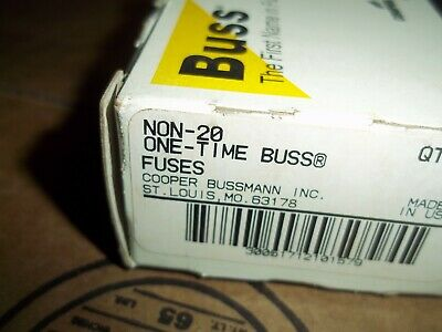 Buss  Non-20 20 Amp  Fuse
