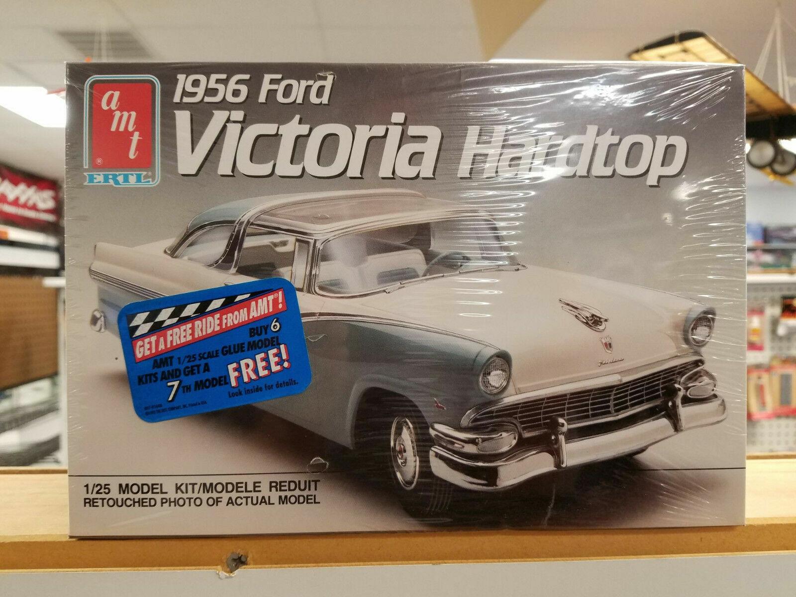 1966 Ford Mustang Hardtop Classic Car AMT ERTL Plastic Model Kit Scale 1 25