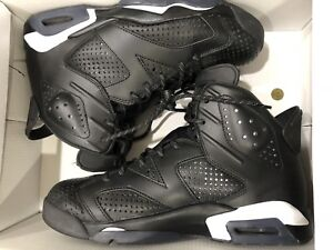 Air jordan 6 black cat sz 8.5