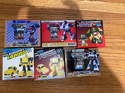 Newage transformers, Third Party Lot Of 6 Figures All New.