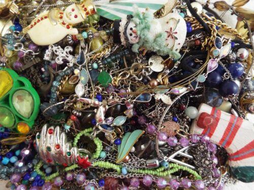 ~ 3 lb ~ Junk Jewelry ~ Lot L254