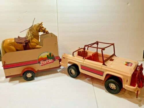 Vintage 1973 Mattel Barbie Western Travelin