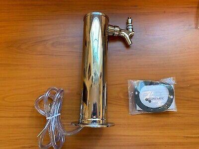 New Tapper Beer Keg Pump Tap Micro Matic Usa 316 Id X 716 Od Chrome