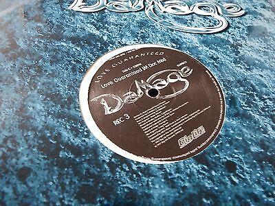 "DAMAGE, LOVE GUARANTEED, 12"" PROMO, DOUBLE ALBUM"