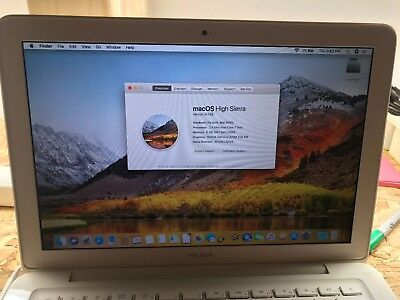 Apple Macbook A1342 Unibody Laptop 2.26GHZ 6GB / SSD / OS 10.13 High Sierra
