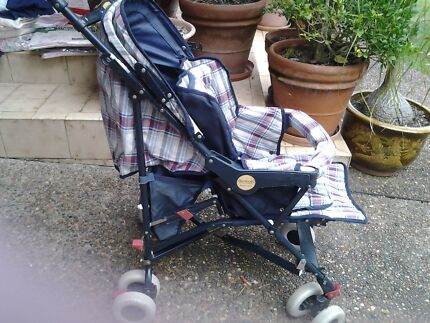 Steelcraft stroller with footie cover  Normanhurst Hornsby Area Preview