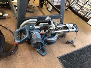 "Bosch 4405 10"" 13 amp single bevel sliding miter saw"