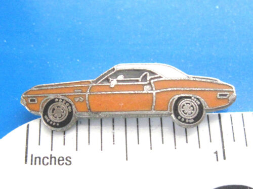 1970  DODGE  CHALLENGER  car - hat pin , lapel pin , tie tac , hatpin GIFT BOXED