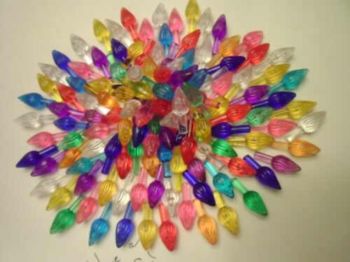 Small twist 18 Replacement bulbs for Ceramic Christmas Tree 9 Colors