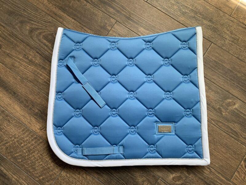 equestrian stockholm FULL DRESSAGE PAD PARISIAN BLUE