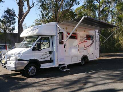 2011 Iveco 50C18 Sunliner Twist Motorhome - Low Kms, Auto, Luxury West Gosford Gosford Area Preview