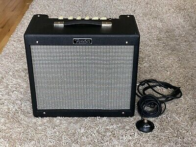 "Fender Blues Junior IV 15 Watt 1x12"" All Tube Guitar Amplifier, MINT"