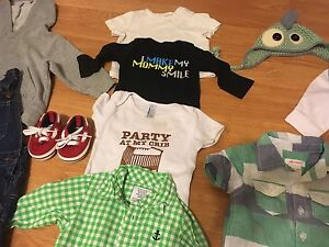 Boy clothes 3-6m some new. Prince George British Columbia image 6