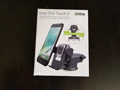 iOttie Easy One Touch 3 Car Mount Holder iPhone X,8/8+,7/7+,Galaxy