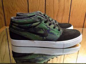 38357737c783b Nike SB Zoom Stefan Janoski Mid Black Iguana Camo Digi DS SB NIB size 11  available