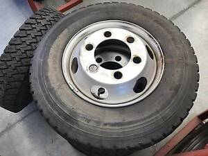 7x Michelin XZ T 8.5 R 17.5 Tyres (Inc. Wheels) - Great Condition Pakenham Cardinia Area Preview