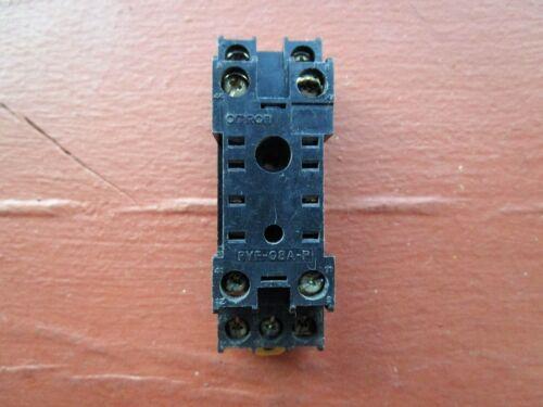 Omron PYF-08A-P Relay Base Socket 8-Pin - FREE Shipping