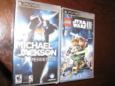LEGO Star Wars III 3: The Clone Wars PSP sealed! + Michael Jackson (Lego Star Wars 3 The Clone Wars Psp)
