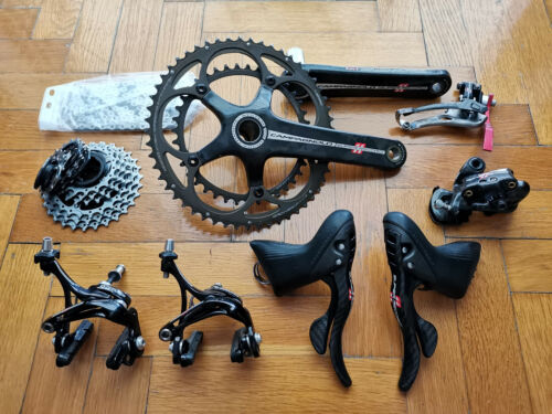Campagnolo Super Record 11 speed carbon groupset