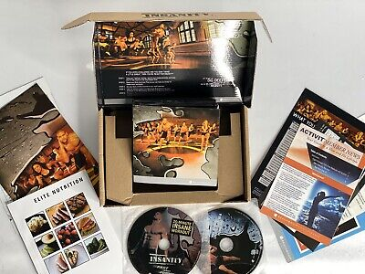 INSANITY 60 Day Total Body Conditioning Home Workout DVD Program