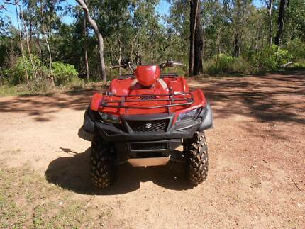 2017 Suzuki 500 King Quad 270 kms only as new condition